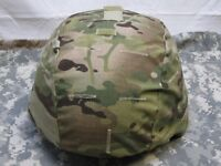 ARMY OCP MULTICAM ACH MICH MADE W/ KEVLAR HELMET COVER ONE SIZE FITS MOST