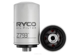 Ryco Oil Filter Z793 fits Volkswagen Tiguan 2.0 TDI 4motion (5N) 130kw, 2.0 T...