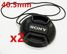 2x Bouchon cache objectif 40,5mm pour objectif Sony NEX 5R NEX 6 NEX 3N 16-50mm