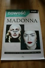 Madonna - Madame X POSTER HUGE PHOTO DOUBLE SIDED PROMO POSTER
