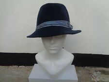 Tie Rack Talla M/L Black Label mano acabado italiano, 100% Lana para Hombre Sombreros £ 54.99