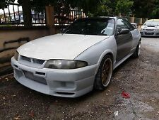 Nissan Skyline GTS33 Convert GTR33 OEM Style Full Wide Body Kit