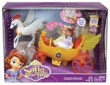 DISNEY PRINCESS SOFIA THE FIRST ROYAL COACH HORSE & CARRIAGE WITH SOUNDS NEW!