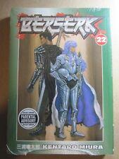 BERSERK TPB volume #22 New NM+ still wrapped KENTARO MIURA MANGA dark horse