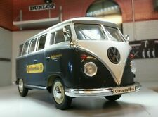 VW Samba T1 Continental Tyres Ltd Edition Van Welly 1:24 Scale Diecast Model