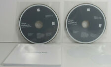 15 inch MacBook Pro OS X Install DVD 10.5.6 and Applications DVD