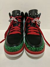 sale retailer 944f7 14329 AIR JORDAN SPIZIKE OG RETRO GS SZ 6.5 Y BLACK RED GREEN YOUTH 317321 026