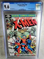 Uncanny X-Men #156 Starjammers - Marvel 1982 CGC 9.6 NM+ White Pages Comic I0144
