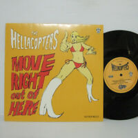 """HELLACOPTERS - MOVE RIGHT OUT OF HERE 10"""" EP 1999 SWEDEN ORIG White Jazz LP"""