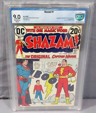 SHAZAM #1 (Captain Marvel, Jr. & Mary 1st appearance) CBCS 9.0 DC Comics 1973