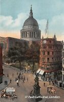 POSTCARD    LONDON    St  Paul's  Cathedral