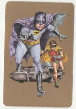 Playing Cards 1 Single Japanese KOIDE RARE TV Series BATMAN & ROBIN 1960's N105