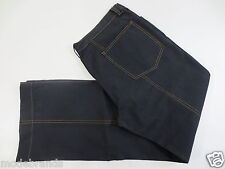 Morara Jeans Pantaloni 52 ZIP FLY LOW WAIST POLYCOTTON BLU SCURO come nuovo/gg87