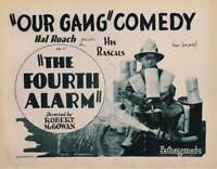 OLD MOVIE PHOTO The Fourth Alarm Us Lobby Card Allen Farina Hoskins 1926