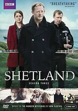 Shetland: Season 3, Three,NEW,(DVD, 2016, 2-Disc Set) Fast, First Class Shipping
