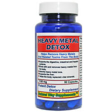 Heavy Metal Detox - Help Remove Lead, Cadmium, Aluminum, Mercury from one's body