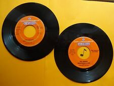 LOT of 2 Different~ THE ARCHIES ~ Bang Shang A Lang ~ 45's records ~ POP