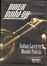 Biker DVD  BIKER BUILD-OFF  Indian Larry vs. Mondo Pouras 2005