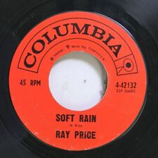 Country 45 Ray Price - Soft Rain / Here We Are Again On Columbia