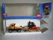 Siku 2522 Automodelle 1:55  Unimog mit Anhänger und Gabelstapler TOP OVP