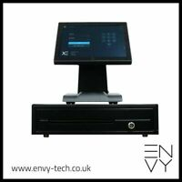 """12"""" Touchscreen EPOS System for Pub and Bar POS Cash Register Till"""