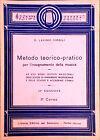 METODO TEORICO-PRATICO PER L'INSEGNAMENTO DELLA MUSICA DI D.L. VIRGILIO. 2 CORSO