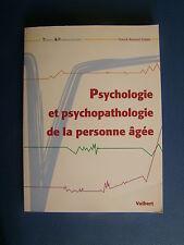 PSYCHOLOGIE ET PSYCHOPATHOLOGIE DE LA PERSONNE ÂGÉE : FRANCK REXAND-GALAIS