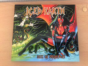 Iced Earth - Days of Purgatory 2er CD von 1998 ( Rare Metal CD) mit Booktlet TOP