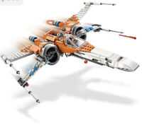 LEGO STAR WARS POE DAMERON'S X-WING FIGHTER FROM 75273 SHIP ONLY NO MINIFIGURES