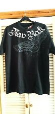 New Rock Tshirt Limited Edition Winged Logo 100% cotton Size XL