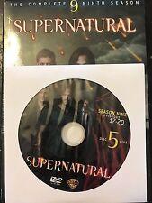 Supernatural - Season 9, Disc 5 REPLACEMENT DISC (not full season)