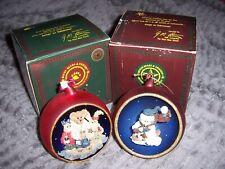 Boyds Bears And Friends Ornaments Lot of 2 Nanuk-Winter Wonderland, Chandler