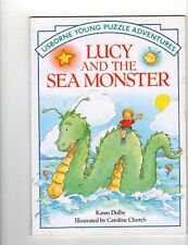 Lucy and the Sea Monster (Usborne Young Puzzle Adv