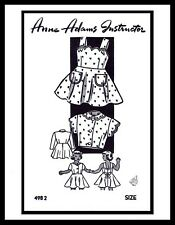 Sunsuit Playsuit & Jacket Pattern BABY GIRL Dress Frock MO ANNE ADAMS 4982 ~4~