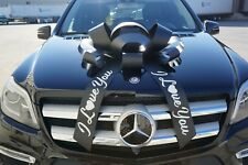 CarBowz I Love You Car Bow Big Personalized Giant Gift Bow Big Bows For Cars
