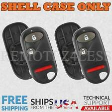 2 For 1994 1995 1996 1997 Honda Accord Remote Shell Case Car Key Fob Cover