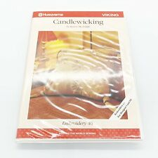 Husqvarna Viking Embroidery Designs Disk #46 Candlewicking Disks Booklet