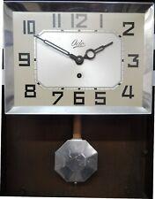 Ancien mécanisme pendule horloge ODO avec balancier - années 50
