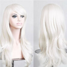 Curly Straight Cosplay Wigs Women Long Synthetic Hair Costume for Halloween Wigs