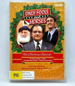 ONLY FOOLS AND HORSES The Christmas Specials DVD 4 Discs Region 4 Free Post