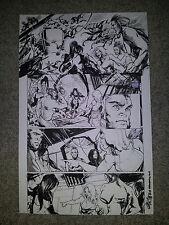 Kristantina WOLVERINES 19 pg 7 X-23 MYSTIQUE SABRETOOTH DAKEN - RARE ARIELA ART