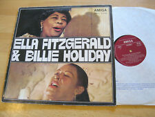 LP  Ella Fitzgerald & Billie Holiday Same Body and Soul Vinyl Amiga DDR 8 55 084