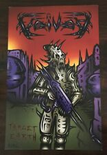 Voivod Target Earth 2013 Record Store Promo Poster *Rare