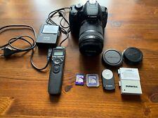 Canon EOS 650D/RebelT4i 18.0MP DSLR Camera + 18-135mm Lens + MANY Accessories