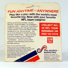 Vintage NFL Football Yo-Yo - In Package