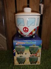 Brand new Christmas gift, Camper Van Bowl with lid