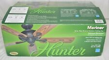 Hunter The Mariner 52-in New Bronze Indoor/Outdoor Ceiling Fan (5-Blade) - 59126