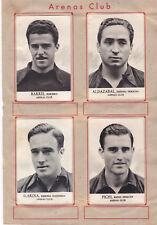15 Cromos ARENAS CLUB ( Guecho ) ( Album Fotos Deportivas FHER 1942 )