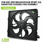 For 2017-2019 Nissan Rogue Sport Radiator Cooling Fan Assembly 2.0L 214816MA0A