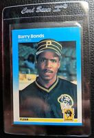 1987 FLEER #604 BARRY BONDS ROOKIE CARD RC PITTSBURGH PIRATES MINT